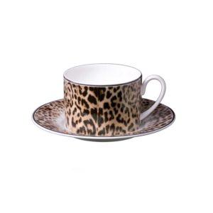 JAGUAR tea cup & saucer set