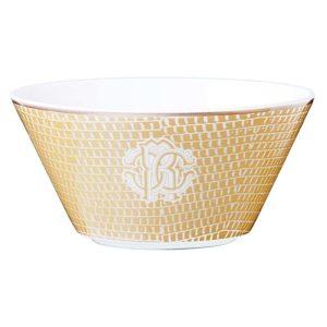 Lizzard gold fruit bowl