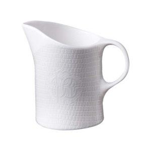 Lizzard platin milk jug