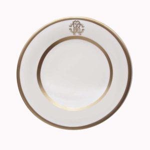 Silk gold bread plate