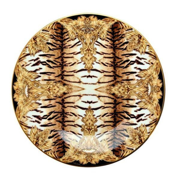 TIGER WINGS charger plate