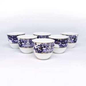 Azulejos Arabic coffee cups