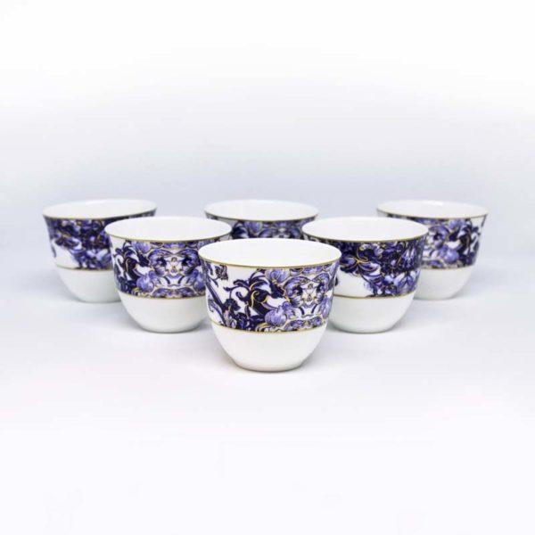 Azulejos Arabic coffee cups