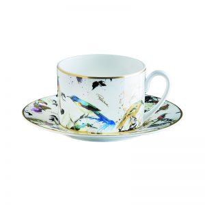 GARDEN'S BIRDS tea cup