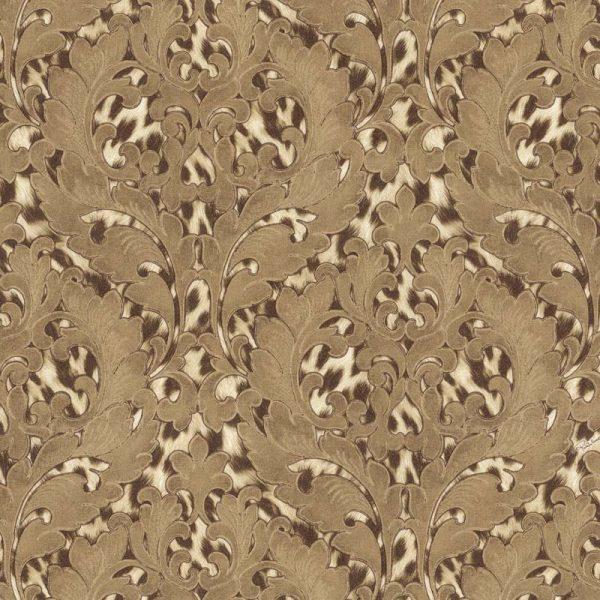 RC15062 Animal print & Rococo leaf