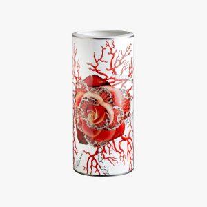 Rose Jewel tall vase