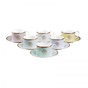 Lizzard Sunrise teacup & saucer set
